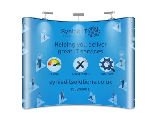 Syniad-IT-banner-stand